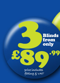 3 blinds from £89